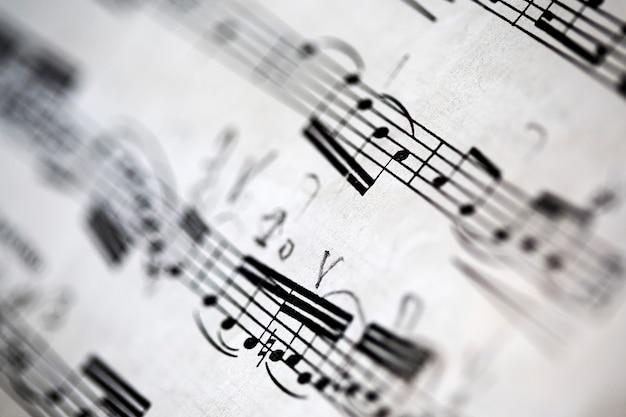 Fondo de partituras