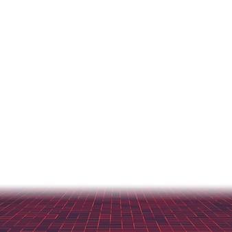 Fondo de patrón de composición de mosaico de azulejos coloridos de vidrio cerámico rojo