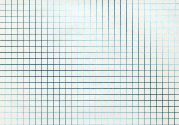 Fondo de patrón de papel matemático en blanco detallado