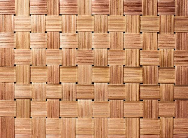 Fondo de patrón de tejido de artesanía tradicional