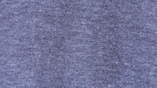 Fondo de patrón de tela de algodón con textura gris para el diseño