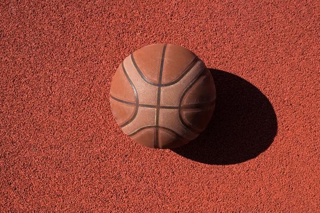 Fondo de pelota de baloncesto