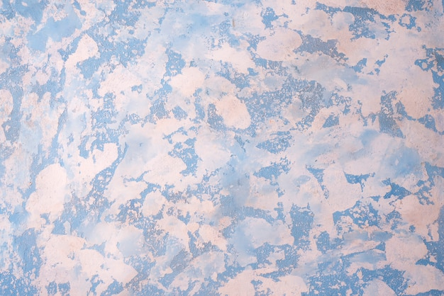 Fondo de piedra blanco azul con alta resolución. vista superior.