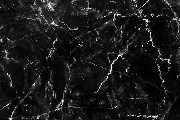 Fondo de piedra natural de textura de fondo de mármol negro