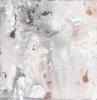 Fondo de pintura abstracta de lienzo de mármol gris con textura de oro, bronce. ilustración moderna