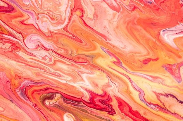 Fondo de pintura abstracta líquida