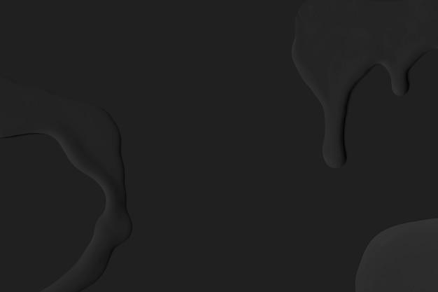 Fondo de pintura acrílica imagen de fondo de pantalla negro
