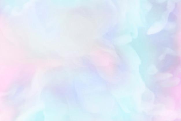 Fondo de pintura acuarela azul vibrante
