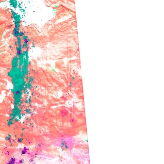 Fondo de pintura de acuarela para el holi festival