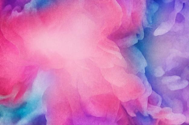 Fondo de pintura acuarela rosa vibrante