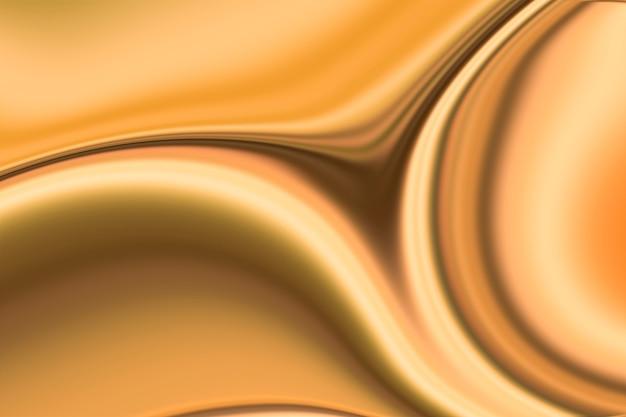 Fondo de pintura de onda de mármol dorado