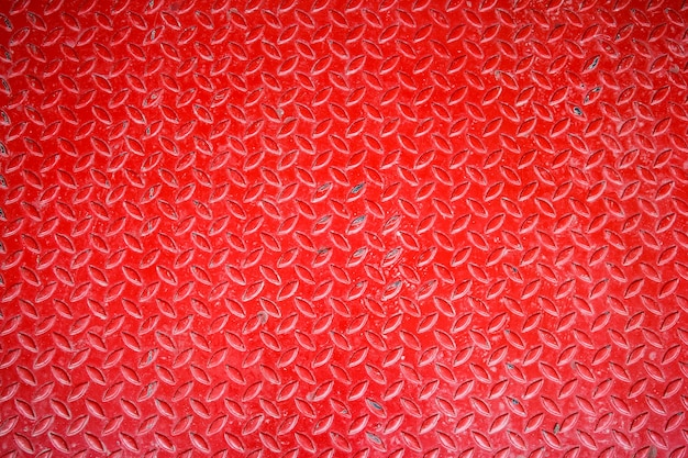 Fondo de piso de placa de diamante rojo