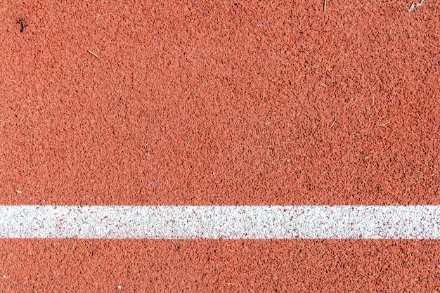 Fondo de la pista de atletismo