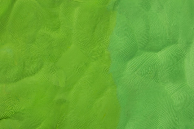 Fondo de plastilina verde con textura
