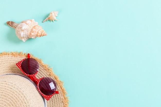 Fondo de playa de vacaciones de verano