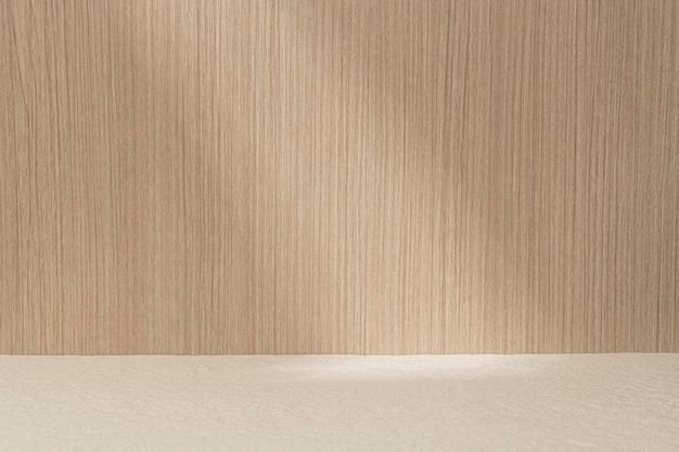 Fondo del producto en madera japonesa clara