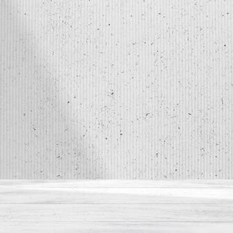 Fondo de producto mínimo con pared blanca