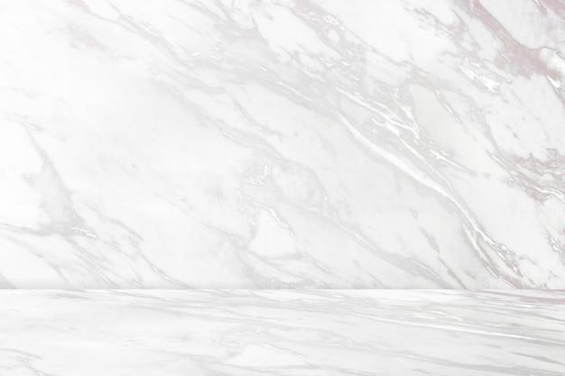 Fondo de producto de patrón de mármol blanco