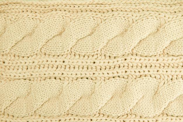 Fondo de punto de lana.