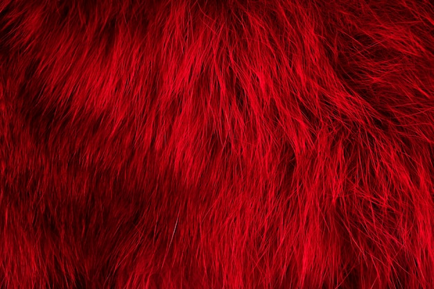 Fondo rojo piel natural