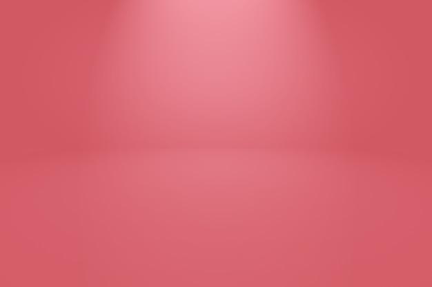 Fondo rojo suave de lujo abstracto
