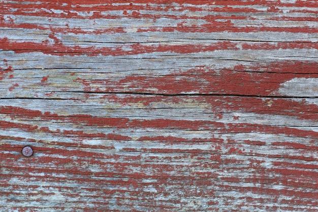 Fondo rojo vintage y retro de madera o textura