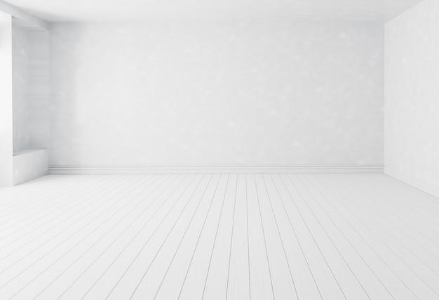 Fondo de sala interior blanco en blanco