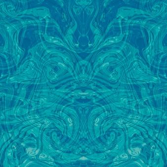 Un fondo simétrico de la textura del diseño de la pintura de aceite abstracta