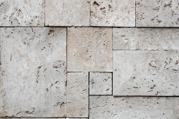 Fondo de superficie de piedra cuadrada con estilo moderno