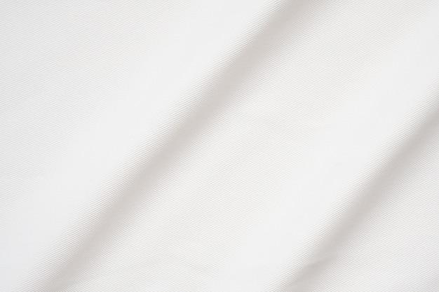 Fondo de superficie de textura lisa de tela blanca