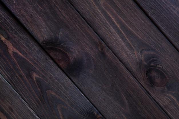 Fondo de tablas de madera oscura