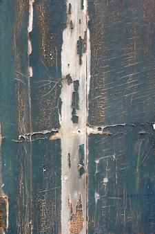 Fondo de tablero de madera pintado oxidado viejo