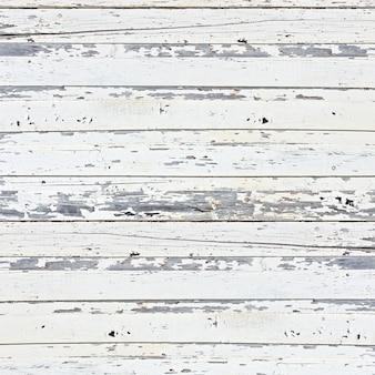 Fondo de tablón de madera blanco antiguo.
