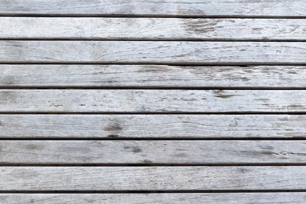 Fondo de tablones de madera blanca envejecida
