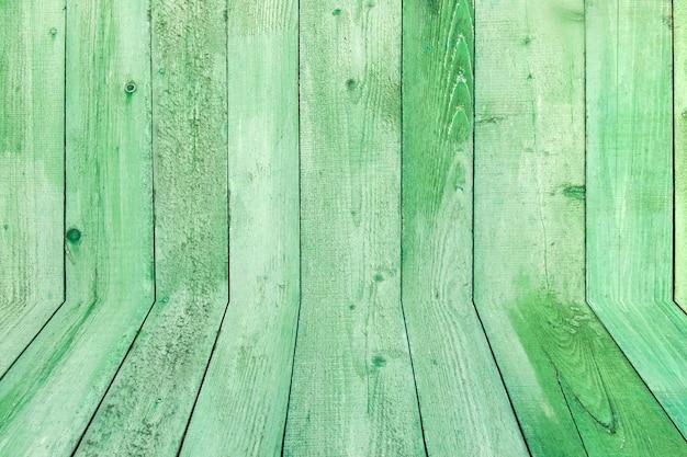 Fondo de tablones de madera resistida natural