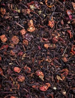 Fondo de té negro