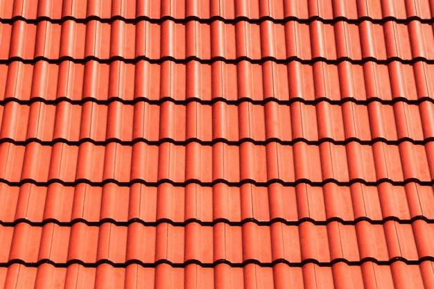 Fondo de techo superior naranja