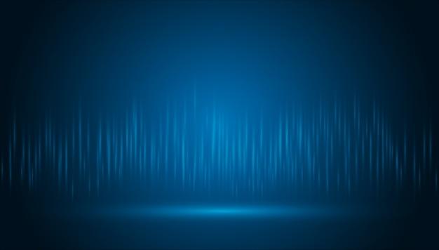 Fondo de tecnología abstracta ligera fondo de innovación de concepto de comunicación de alta tecnología