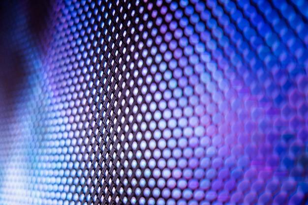 Fondo de tecnología azul y púrpura abstracto