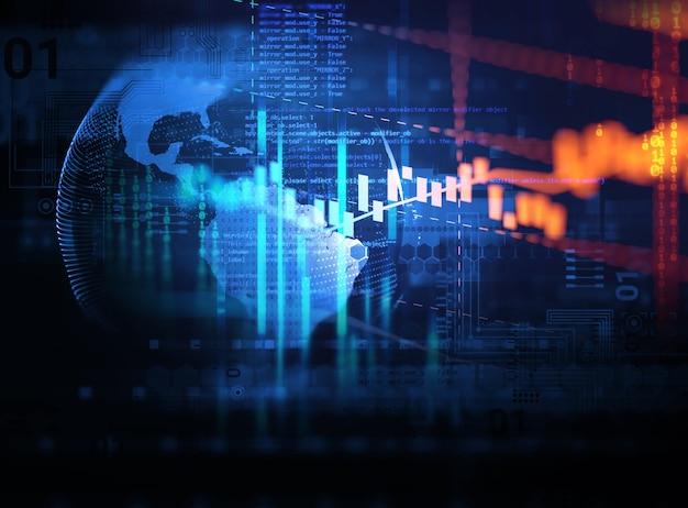 Fondo de tecnología digital abstracto blanco