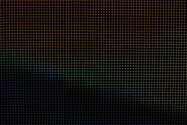 Fondo de tecnología de pantalla led.