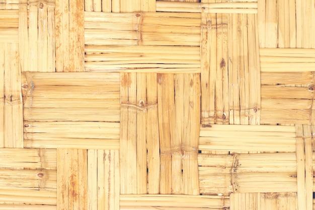 Fondo de tejido de bambú