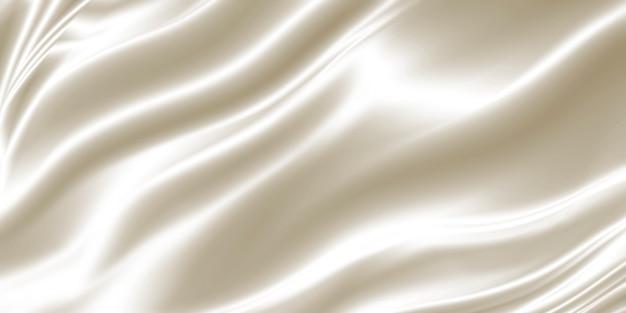 Fondo de tela blanca de lujo