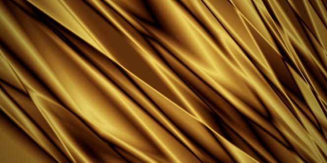 Fondo de tela de lujo dorado