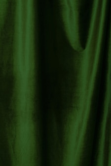Fondo de tela de terciopelo verde de cerca