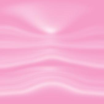Fondo de telón de fondo de estudio transparente degradado rosa fotográfico.