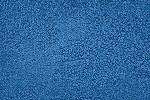 Fondo de textura abstracta de color azul clásico