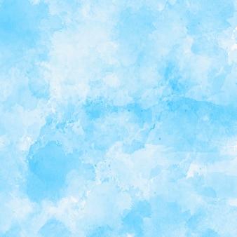 Fondo de textura de acuarela azul