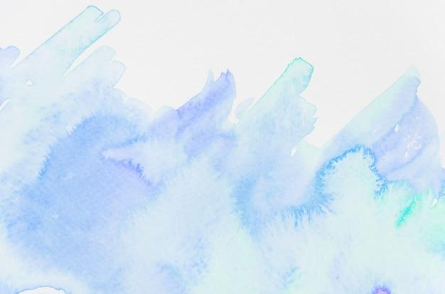Fondo de textura de acuarela real azul y verde