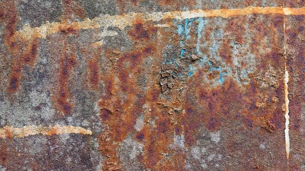 Fondo de textura al aire libre áspero oxidado